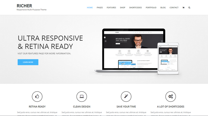 Richer -Responsive Multi-Purpose Theme